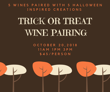 Trick or Treat Food and Wine Pairing