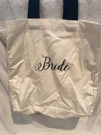 Bride/Bridesmaid Canvas Bag