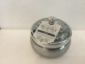Silver Tin Candle Image