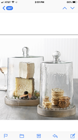 Large Glass Cheese Cloche