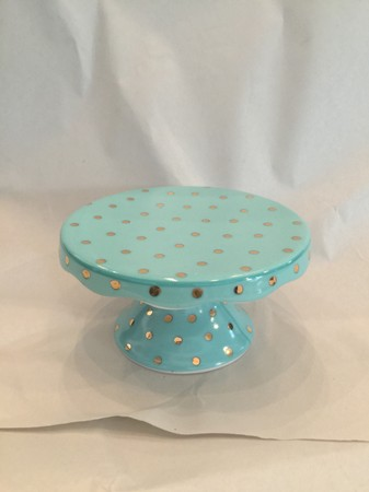 Porcelain Individual Cupcake Stand (4 different color variations)