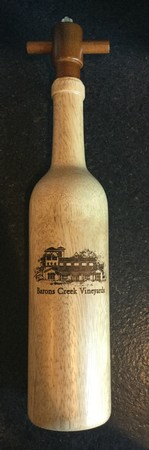 Custom Engraved Wood Peppermills