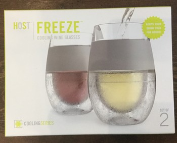 FREEZE Cooling Wine Glass (set of 2)