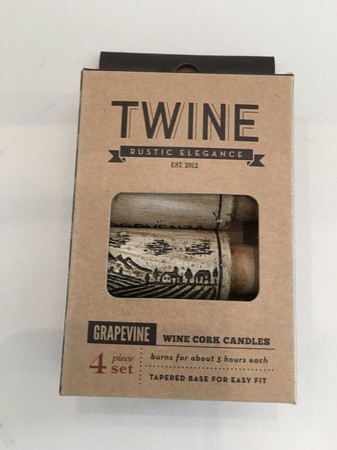 Grapevine: Wine Cork Candles