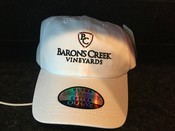 White BCV Hat